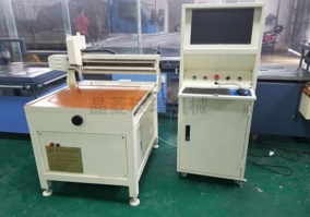Small special-shaped glass cutting machine