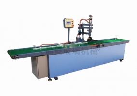 Glass rounding machine