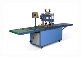 Automatic glass rounding machine